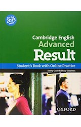 Papel Cambridge English Advanced Result Student's Book with Online Practice