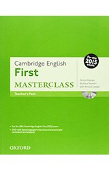 Papel Cambridge English First Masterclass Teacher's Book