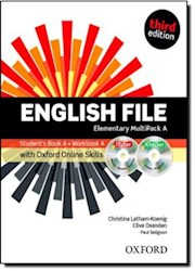 Papel English File Third Edition Elementary Multipack A With Itutor And Online Skills