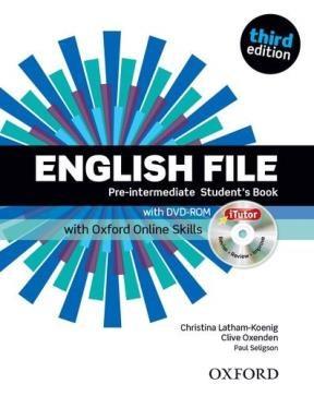 Papel English File Pre-Intermediate Students Book