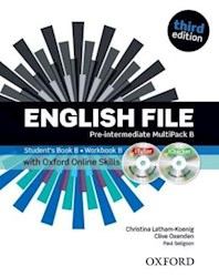 Papel English File Third Edition Pre-Intermediate Multipack B With Itutor And Online Skills
