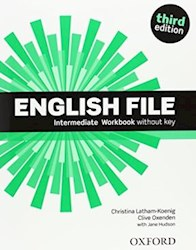 Papel English File Third Edition Intermediate Workbook Without Key