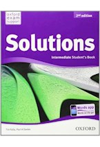 Papel SOLUTIONS. INTERMEDIATE. STUDENTS BOOK