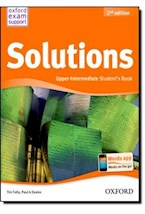 Papel SOLUTIONS. UPPER-INTERMEDIATE. STUDENTS BOOK