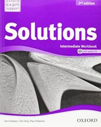 Libro Solutions  Intermediate - Wb With Audio Cd   2Nd Edition