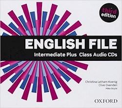 Papel English File Third Edition Intermediate Plus Class Audio Cds