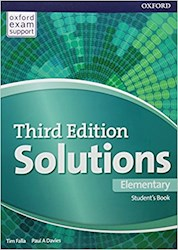 Papel Solutions Third Ed. Elementary Student'S Book