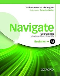 Papel Navigate A1 Beginner Coursebook With Dvd And Oxford Online Skills