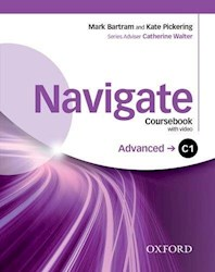 Papel Navigate C1 Advanced Coursebook With Dvd And Oxford Online Skills Program