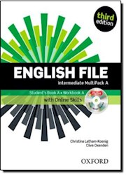 Papel English File Third Edition Intermediate Multipack A