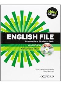 Papel English File Interm.3/Ed.- Sb + Itutor + Online Skills