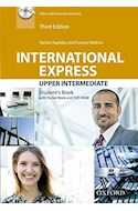 Papel INTERNATIONAL EXPRESS UPPER INTERMEDIATE STUDENT'S BOOK PACK (3 EDITION)