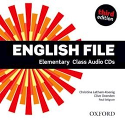 Papel English File Third Edition Elementary Class Cd