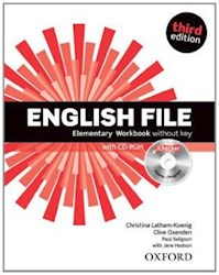 Papel English File Third Edition Elementary Workbook Without Key And Ichecker