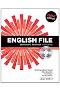 Papel ENGLISH FILE ELEMENTARY WORKBOOK WITHOUT KEY (WITH CD ROM) (ICHECKER) (THIRD EDITION)