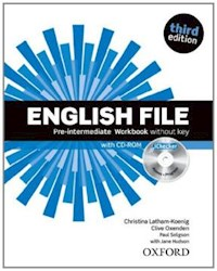 Papel English File Third Edition Pre-Intermediate Workbook Without Key And Ichecker