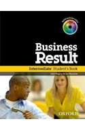 Papel BUSINESS RESULT INTERMEDIATE STUDENT'S BOOK WITH DVD-ROM