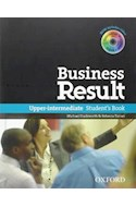 Papel BUSINESS RESULT UPPER INTERMEDIATE STUDENT'S BOOK WITH DVD-ROM