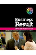 Papel BUSINESS RESULT ADVANCED STUDENT'S BOOK WITH DVD-ROM