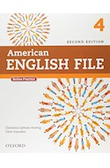 Papel AMERICAN ENGLISH FILE 4 STUDENT'S BOOK WITH ONLINE PRACTICE