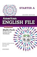 Papel AMERICAN ENGLISH FILE STARTER MULTIPACK A WITH ONLINE PRACTICE