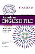 Papel AMERICAN ENGLISH FILE STARTER MULTIPACK B WITH ONLINE PRACTICE