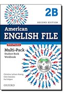 Papel AMERICAN ENGLISH FILE 2 MULTIPACK B WITH ONLINE PRACTICE