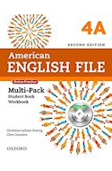Papel AMERICAN ENGLISH FILE 4 MULTIPACK A WITH ONLINE PRACTICE