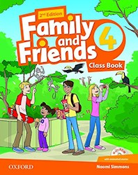 Papel Family And Friends 2Nd Edition 4 Class Book