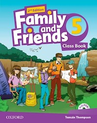Papel Family And Friends 2Nd Edition 5 Class Book