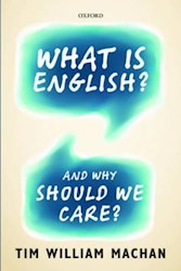 Papel What Is English? And Why Should We Care?