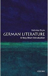 Papel German Literature: A Very Short Introduction