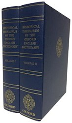 Papel Historical Thesaurus Of The Oxford English Dictionary 2 Vols.