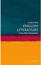 Papel English Literature: A Very Short Introduction
