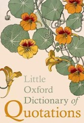 Papel Little Oxford Dictionary Of Quotations 5Th Ed.
