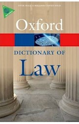Papel Oxford Dictionary of Law