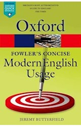Papel Oxford Fowler's Concise Modern English Usage