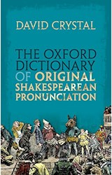 Papel The Oxford Dictionary of Original Shakespearean Pronunciation
