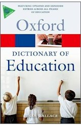Papel Oxford Dictionary of Education 2nd Ed.