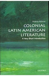 Papel Colonial Latin American Literature: A Very Short Introduction
