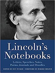 Papel Lincoln'S Notebooks: Letters, Speeches, Journals, And Poems