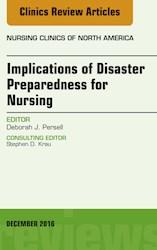 E-book Implications Of Disaster Preparedness For Nursing, An Issue Of Nursing Clinics Of North America, E-Book