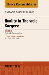 E-book Quality In Thoracic Surgery, An Issue Of Thoracic Surgery Clinics, E-Book