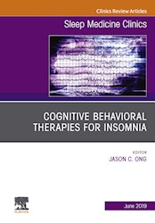 E-book Cognitive-Behavioral Therapies For Insomnia, An Issue Of Sleep Medicine Clinics, Ebook