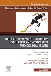 E-book Medical Impairment And Disability Evaluation, & Associated Medicolegal Issues, An Issue Of Physical Medicine And Rehabilitation Clinics Of North America, Ebook