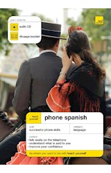 Papel PHONE SPANISH CD AND BOOKLET TEACH YOURSELF