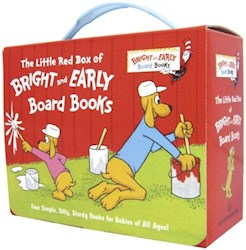 Papel The Little Red Box Of Bright And Early Board Books