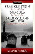 Papel FRANKENSTEIN / DRACULA / DR. JECKYLL AND MR. HYDE