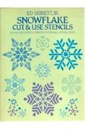 Papel SNOWFLAKE CUT & USE STENCILS