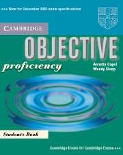 Papel Objective Proficiency Sb
